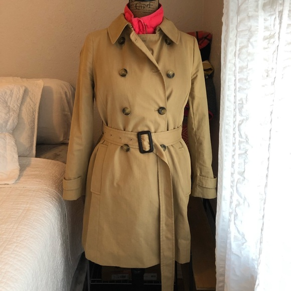 j crew factory jackets coats j crew factory trench coat poshmark